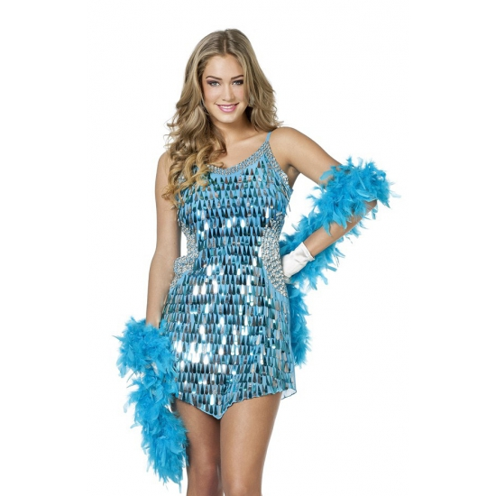 Glitter jurken goedkoop
