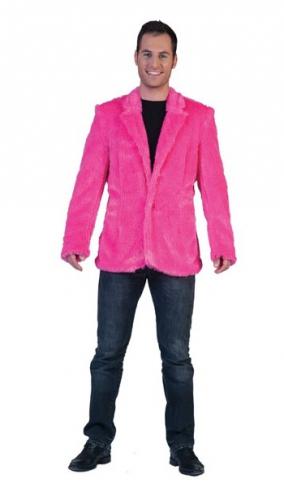Fel roze carnaval jas