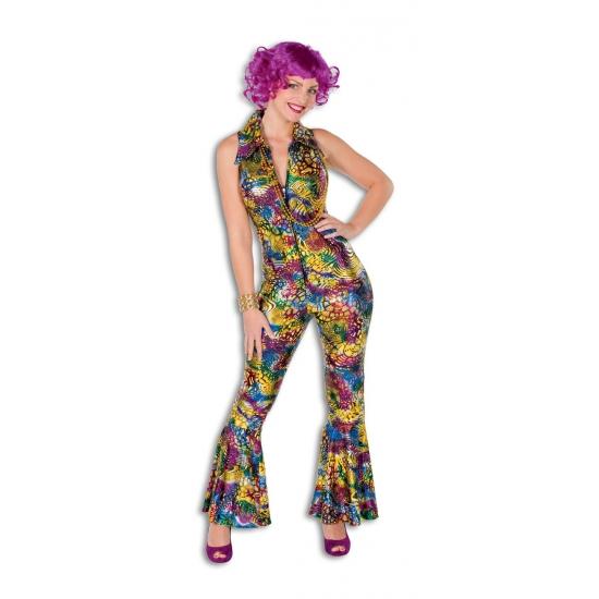 Gekleurde catsuit voor dames