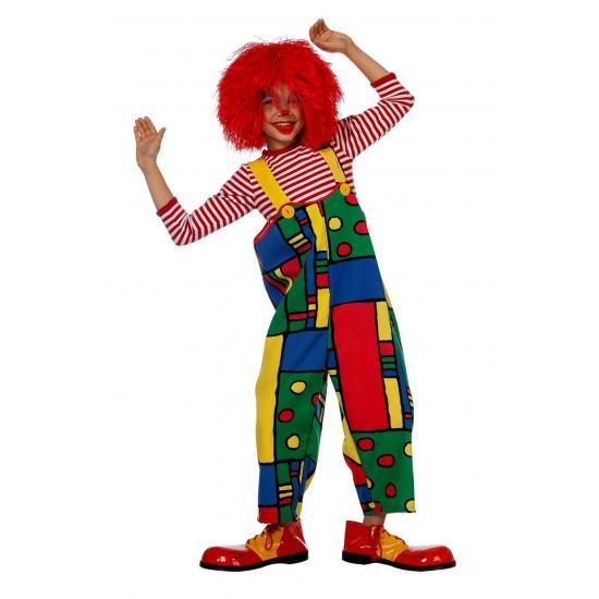 Gekleurde clownspak voor kids