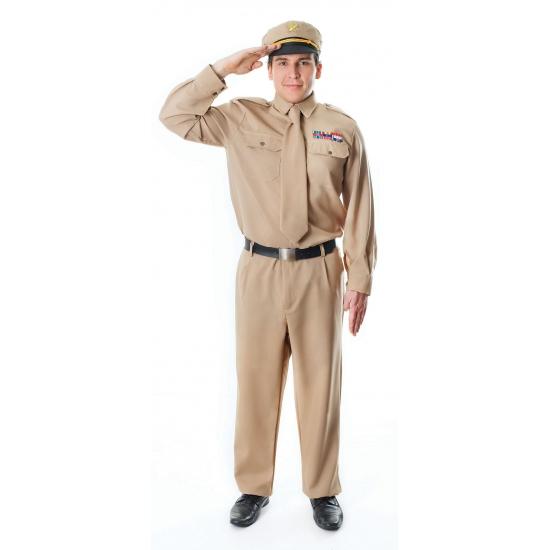 Generaal kostuum kaki