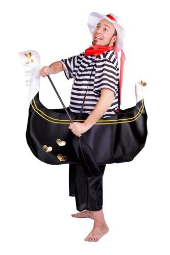 Gondelier kostuum voor volwassenen