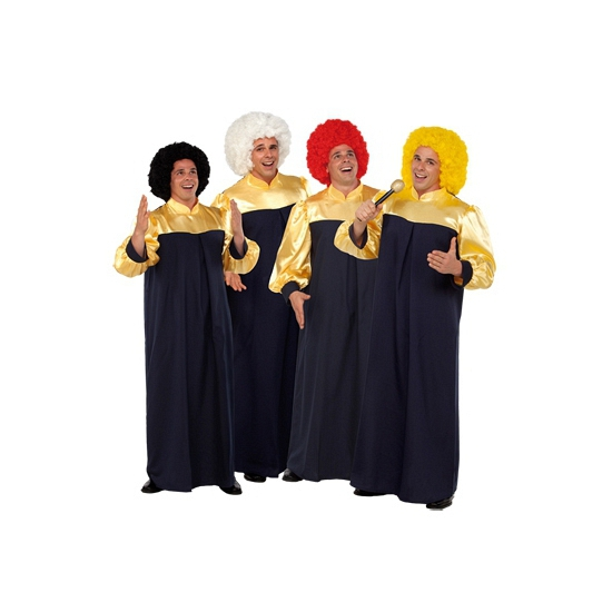 Gospel zanger kostuums