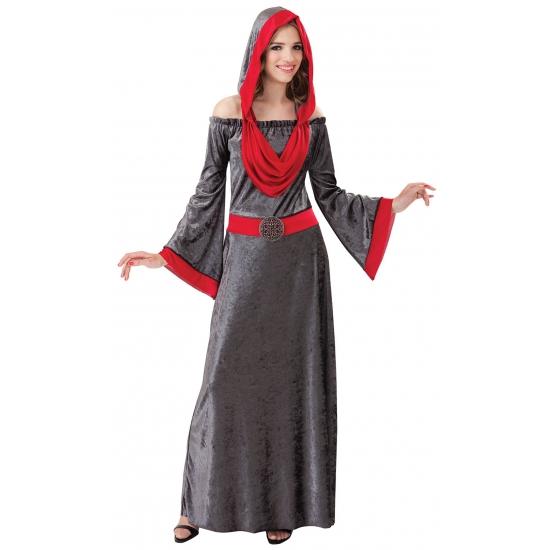 Gothic jurken Halloween grijs
