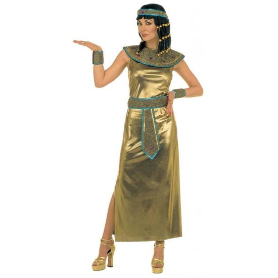 Gouden Cleopatra jurk