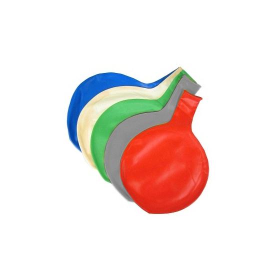 Grijze mega ballon 65 cm