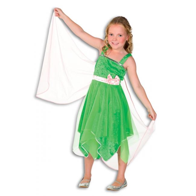 Groen elfjes jurkje voor meisjes