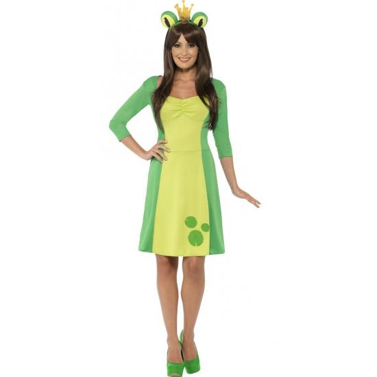 Groen kikker kostuum voor dames