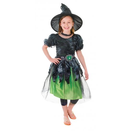 Groene heksenjurk meisjes