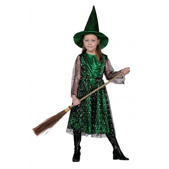 Groene heksenkleding kinderen
