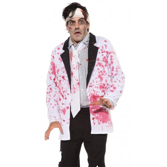 Halloween jasje met bloed