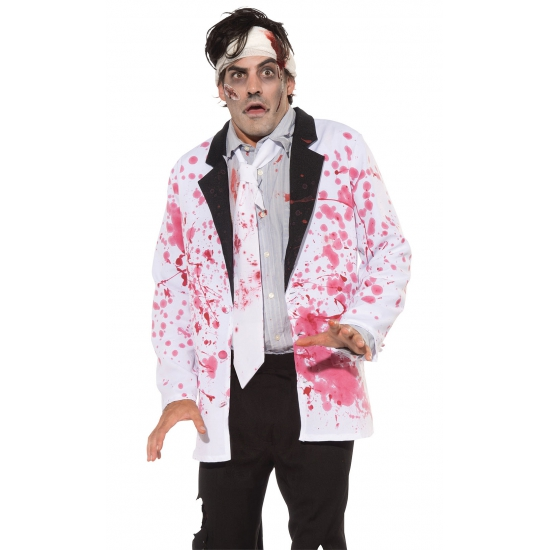 Halloween kostuum bloederige jas