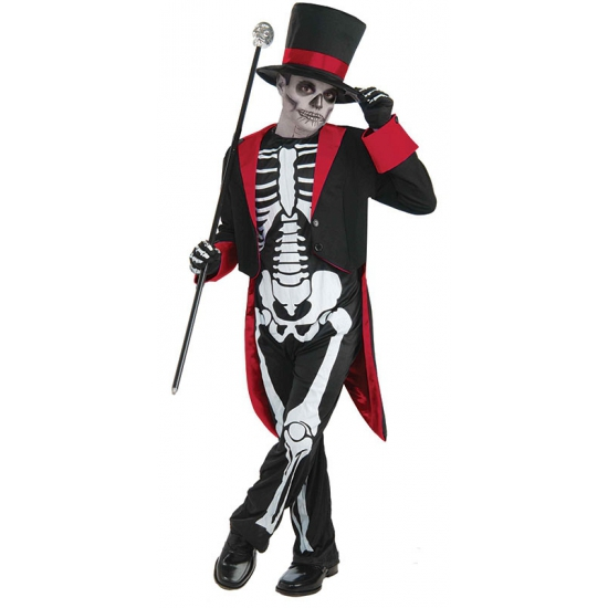 Halloween mr. bone jangles kostuum