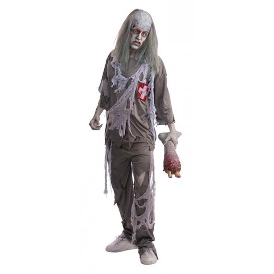 Halloween zombie dokter verkleed kostuum