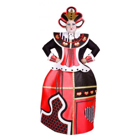 Harten Koningin kostuum voor volwassenen