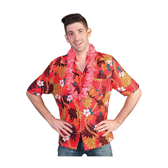 Hawaii shirt met tropische print
