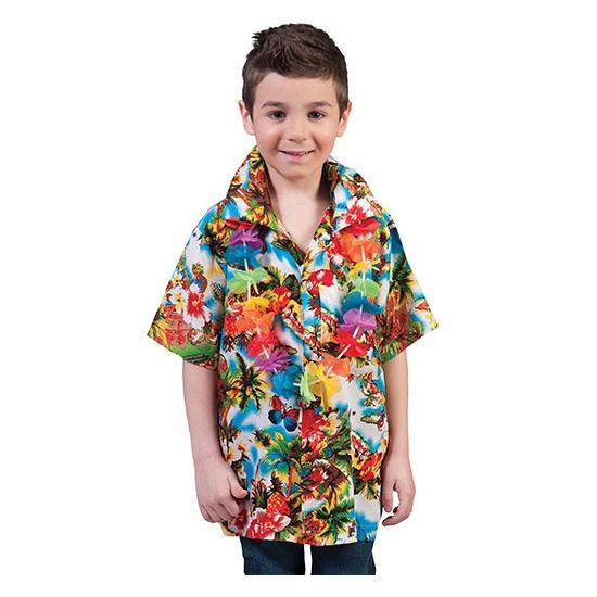 Hawaii shirts voor kinderen