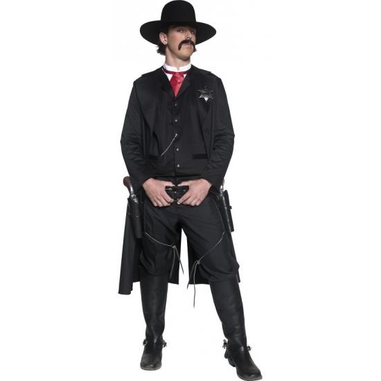 Heren kostuum western sherrif
