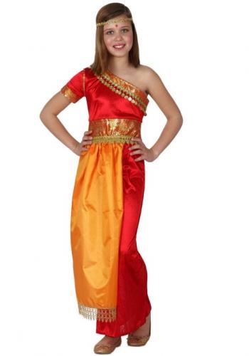 Hindoestaanse meiden jurk