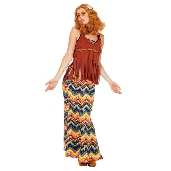 Hippie carnavalkleding voor dames