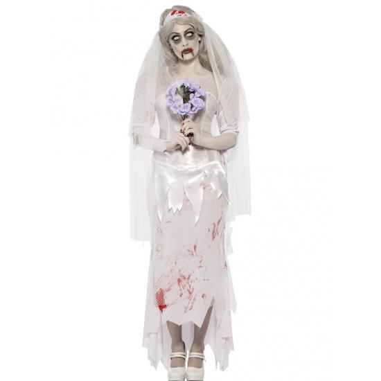 Horror bruid jurk met sluier