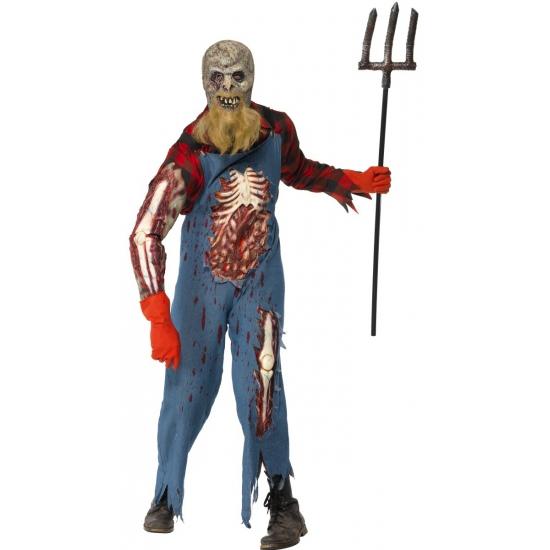 Horror holbewoner zombie pak