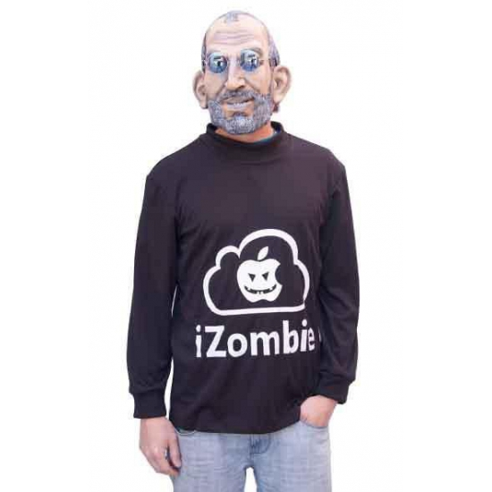 I zombie trui met masker