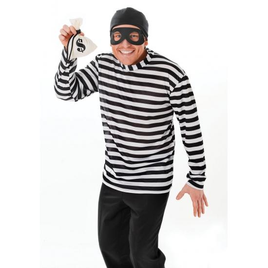 Inbreker carnavals kleding
