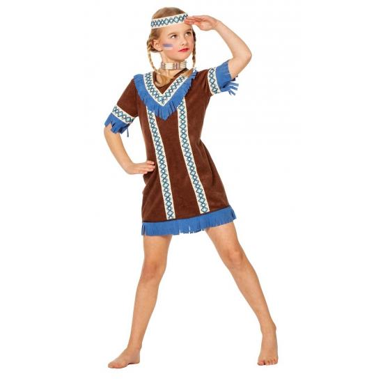 Indianen jurk voor meisjes