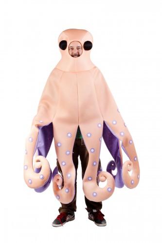 Inktvis kostuum voor volwassenen