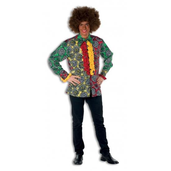 Jamaica blouse rouches