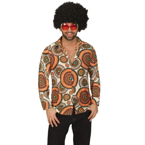 Jaren 70 overhemd voor heren