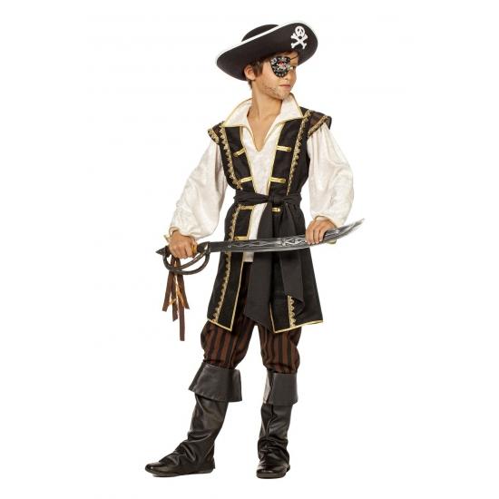 Jongens piraten kostuum bruin