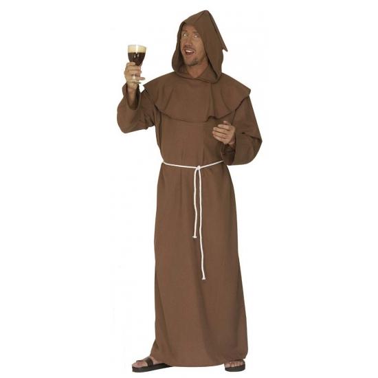 Kapuzijner monnik kostuum bruin