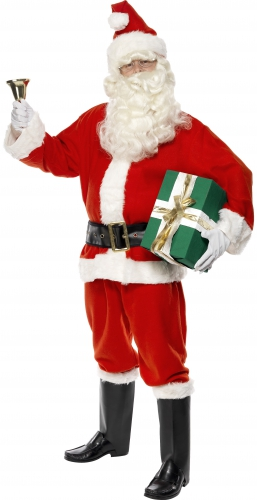 Kerstman outfit voor heren