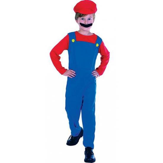 Kinder kostuum Loodgieter Mario