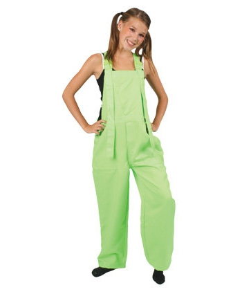 Kinder overall fluor groen