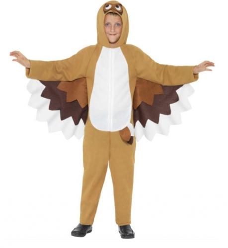 Kinder uilen kostuum