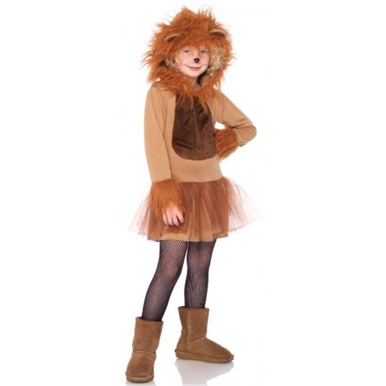 Leeuwen jurkje voor meisjes