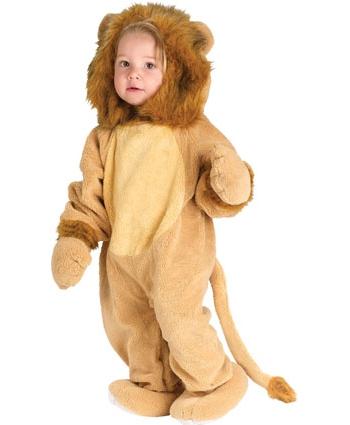 Leeuwen kostuum voor een peutertje