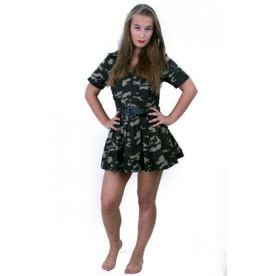 Leger commando jurk voor dames