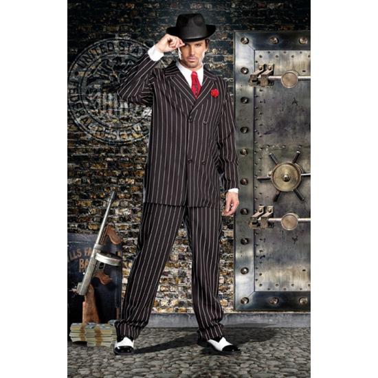 Luxe maffia outfit voor heren