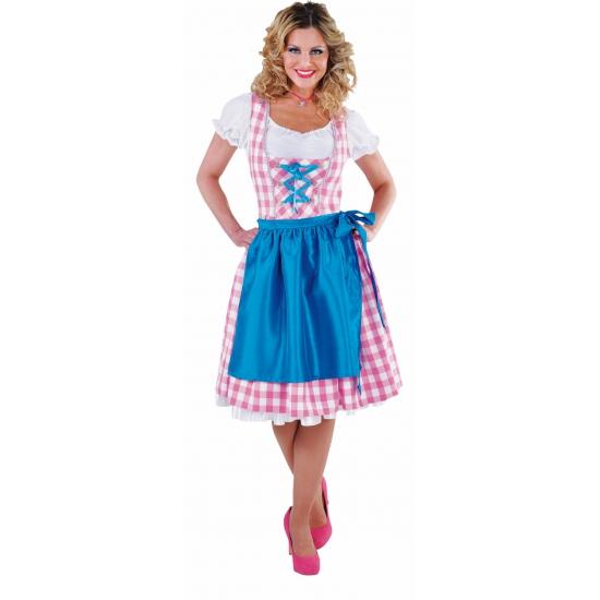Luxe Tiroler outifit roze voor dames