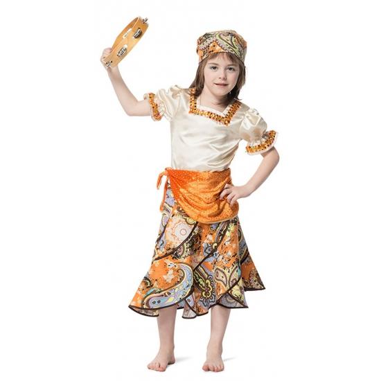 Luxe zigeuner kostuum voor meisjes