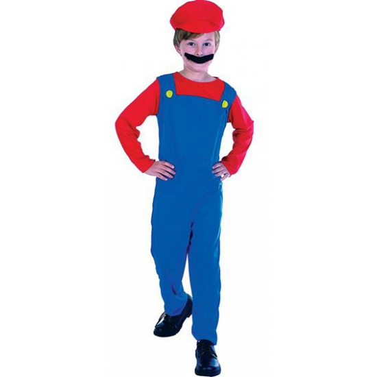 Mario verkleedkleding voor kids