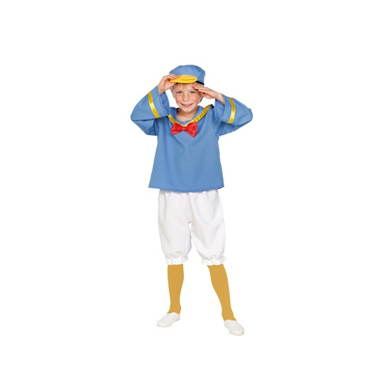 Matrozen eend kinder kostuum