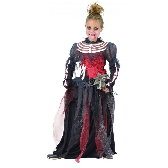 Meisjes halloween bruidsjurk