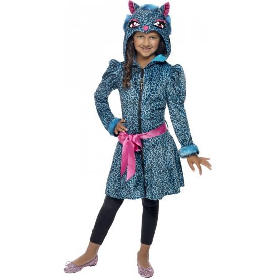 Meisjes luipaard print jas