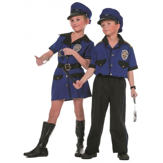 Meisjes politie kostuum