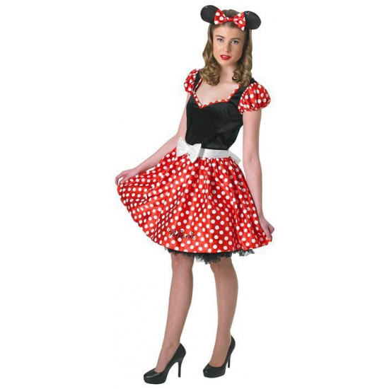 Minnie Mouse outfit voor dames